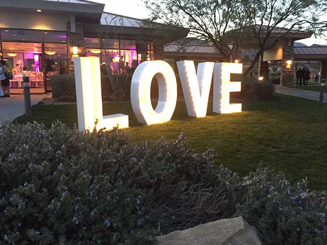 5 Ft Love Marquee